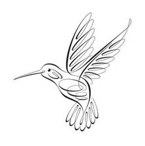 Hummingbird clipart simple. Clip art black and
