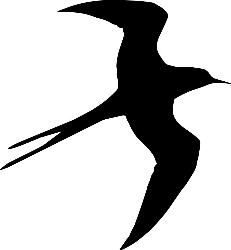 Hummingbird clipart svg free. Swallow bird flying silhouette