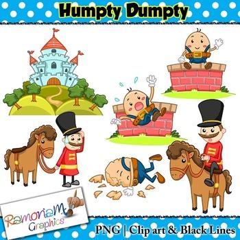 Humpty dumpty clipart. Clip art by ramonam