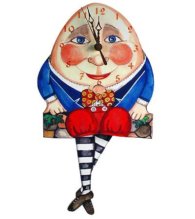 Humpty dumpty clipart. Amazon com pendulum wall