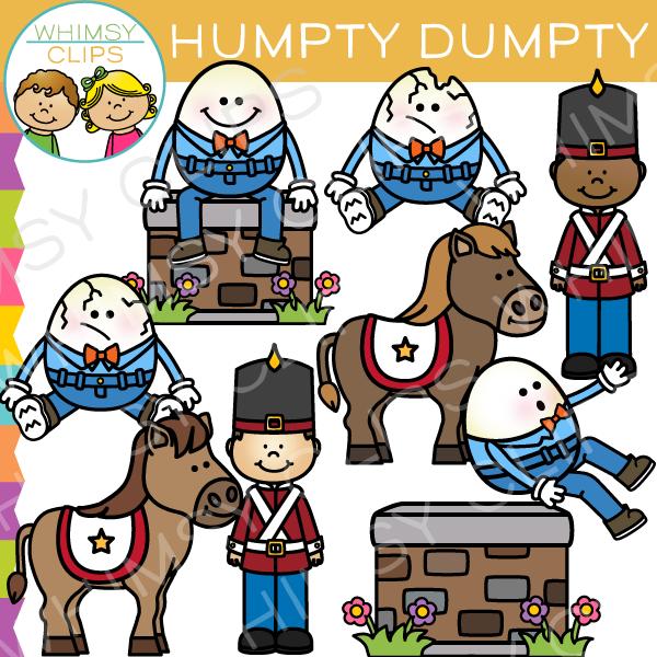 Nursery rhyme clip art. Humpty dumpty clipart