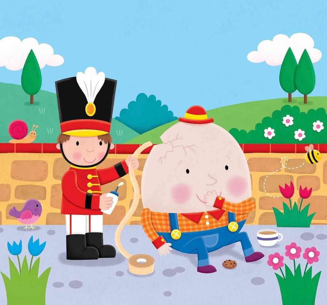 Humpty dumpty clipart all the king's men. Help us put together