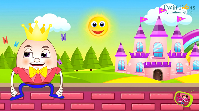 Humpty dumpty clipart animated. Sat on a wall