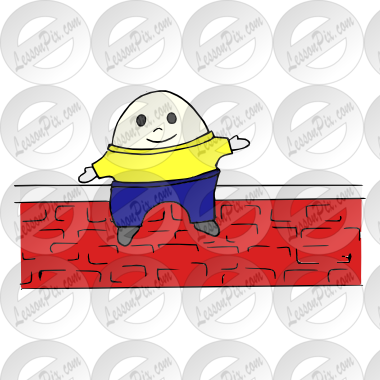 Picture for classroom therapy. Humpty dumpty clipart animated
