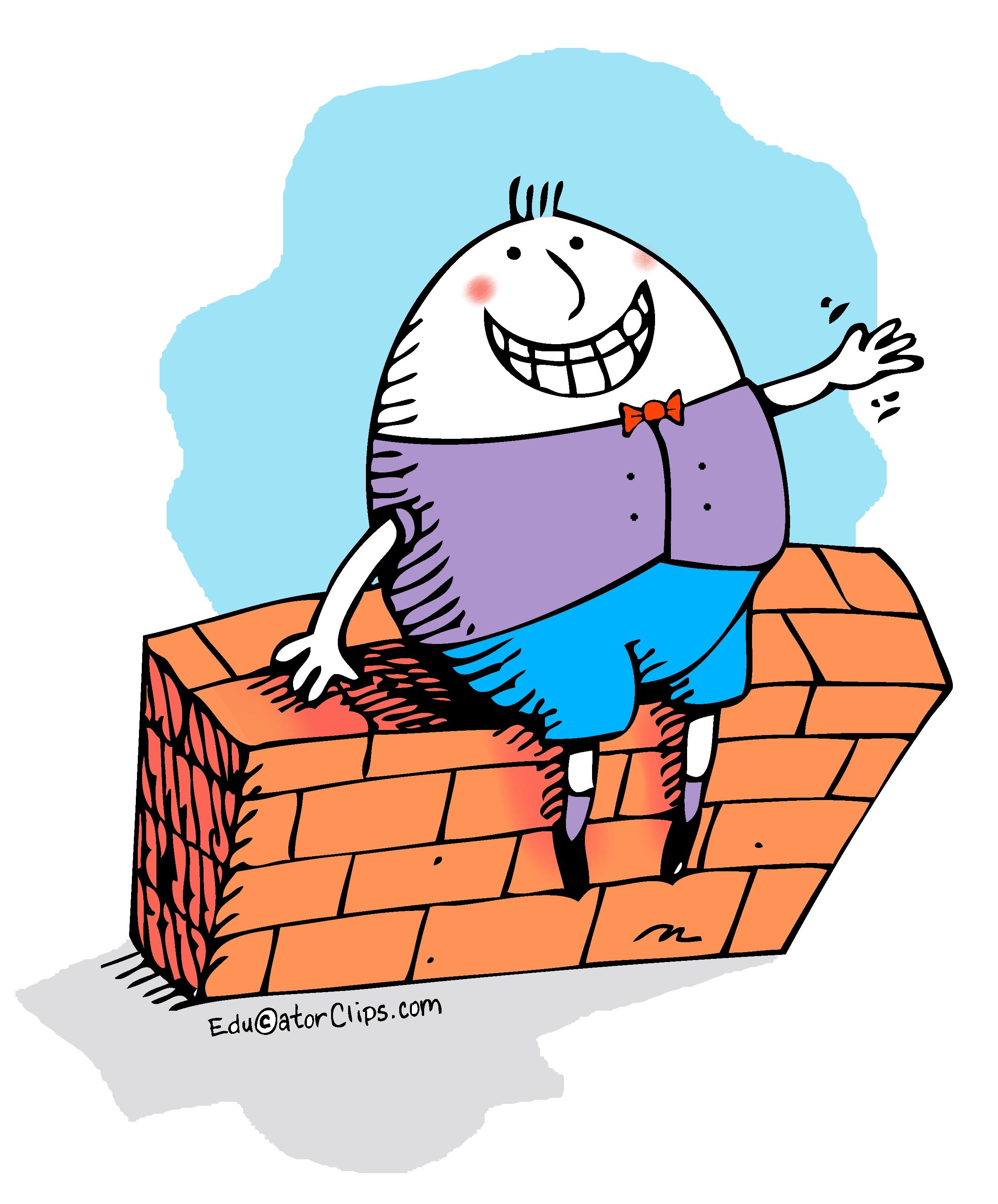 Clip art . Humpty dumpty clipart artwork