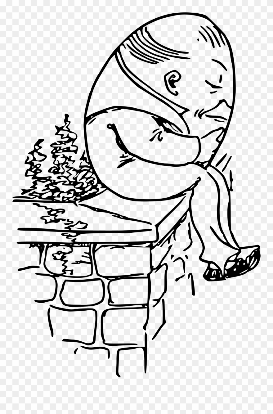 Big image sat on. Humpty dumpty clipart black and white