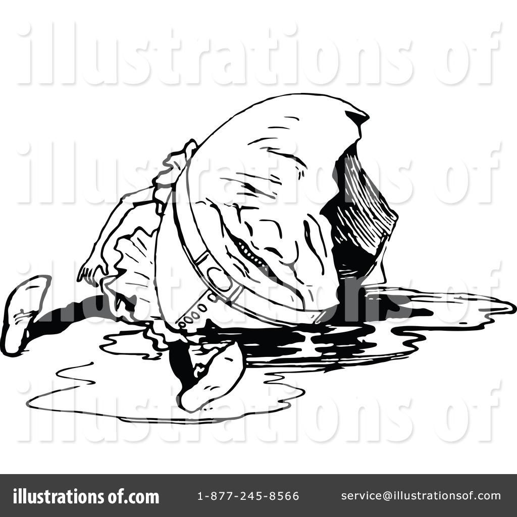 Illustration by prawny vintage. Humpty dumpty clipart broken