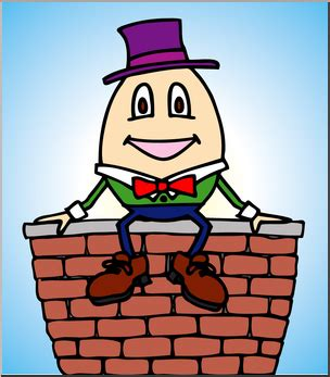 Humpty dumpty clipart clip art. Nursery rhyme tristateportapotty