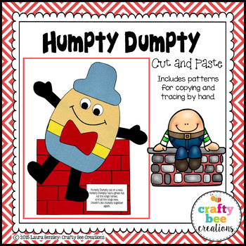 Craft . Humpty dumpty clipart cut and paste