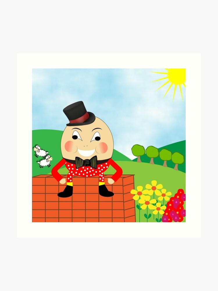 Cute kids nursery rhyme. Humpty dumpty clipart doctor who