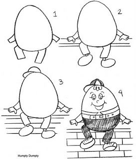 Sketch at paintingvalley com. Humpty dumpty clipart easy