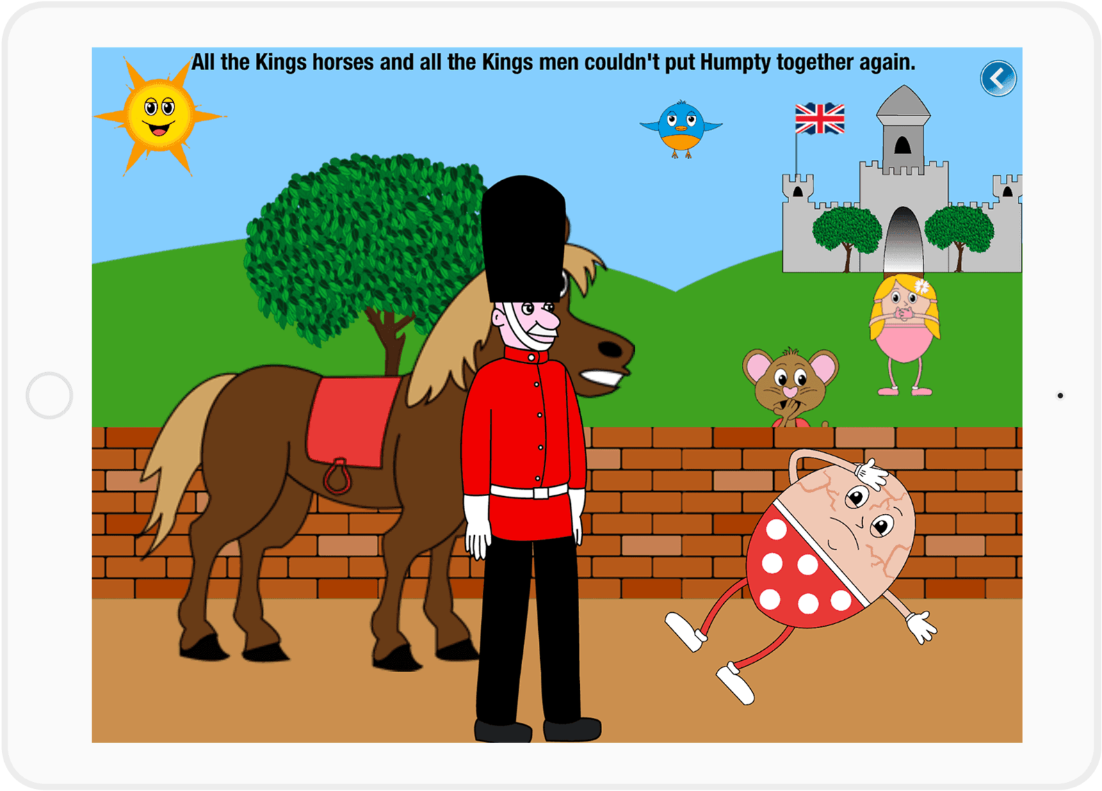 Humpty dumpty clipart king. Kings horse cartoon transparent