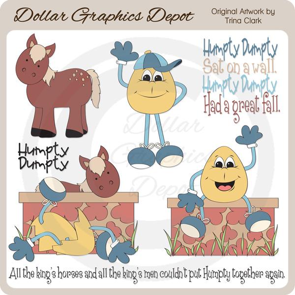 Clip art dollar graphics. Humpty dumpty clipart king