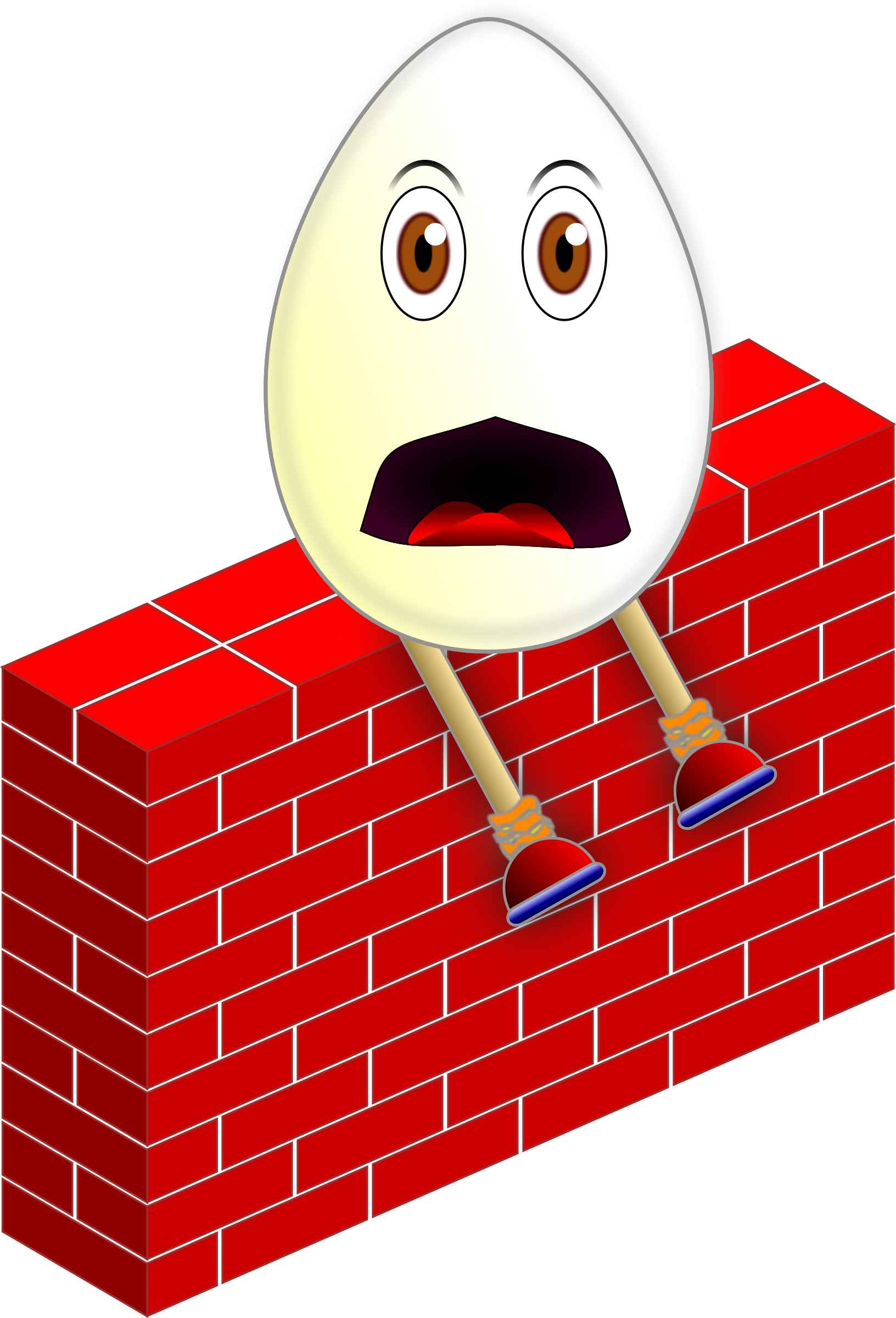 Humpty dumpty clipart kingsman. On a wall big