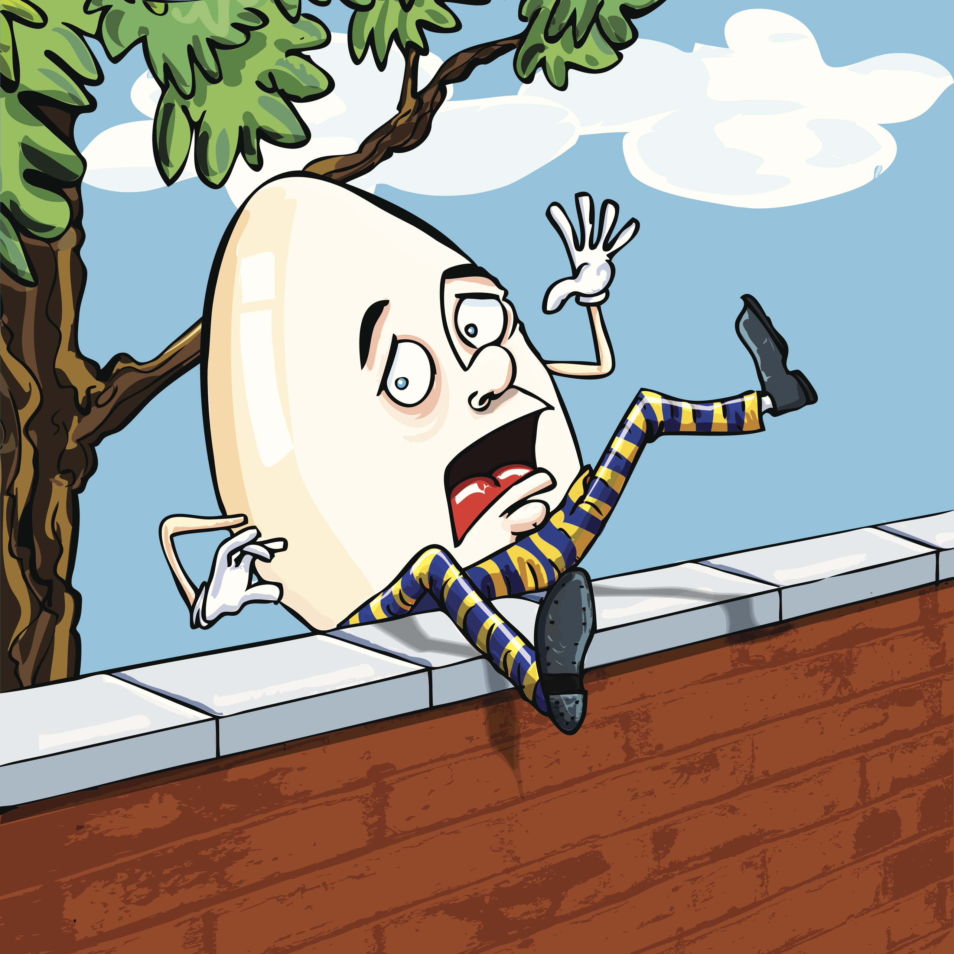 Humpty dumpty clipart party. Channeling do we all