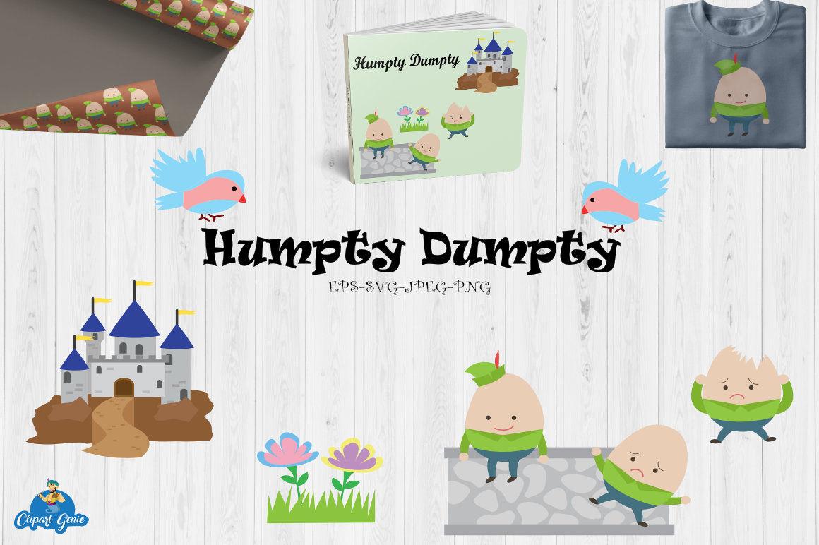 Arts graphics patterns svg. Humpty dumpty clipart pattern