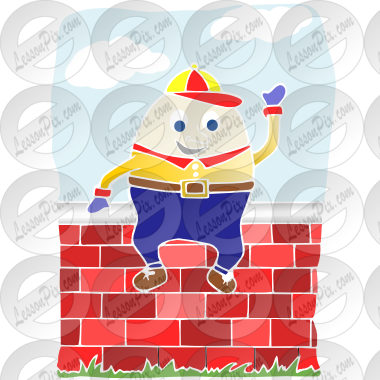 Stencil for classroom therapy. Humpty dumpty clipart umpty