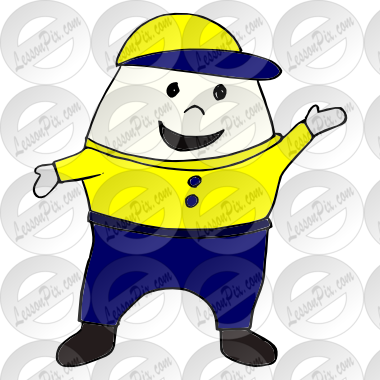 Picture for classroom therapy. Humpty dumpty clipart umpty