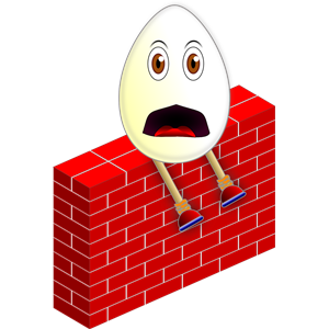 Humpty dumpty clipart wall. On a cliparts of
