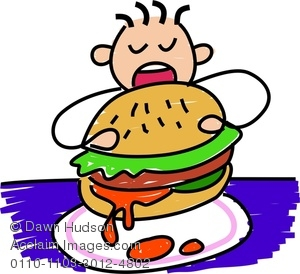 Image of a little. Hungry clipart