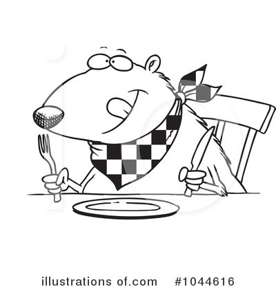 Hungry clipart. Rf panda free images