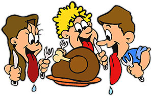 Free thanksgiving s image. Hungry clipart animated