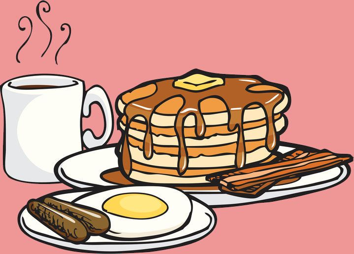Hungry clipart big dinner. Is breakfast really the