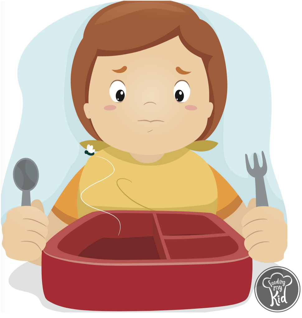 Why it s important. Hungry clipart big dinner
