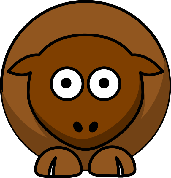 Hungry clipart chocolate. Sheep browns brown pinterest