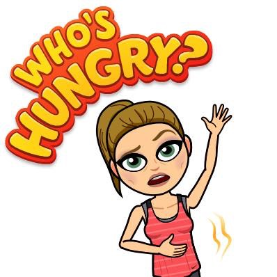 A fit note to. Hungry clipart eat well