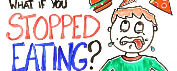 Watch what would happen. Hungry clipart eat well