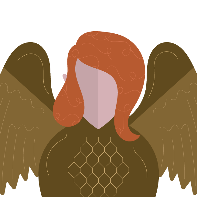 Cage match round harpy. Hungry clipart famished