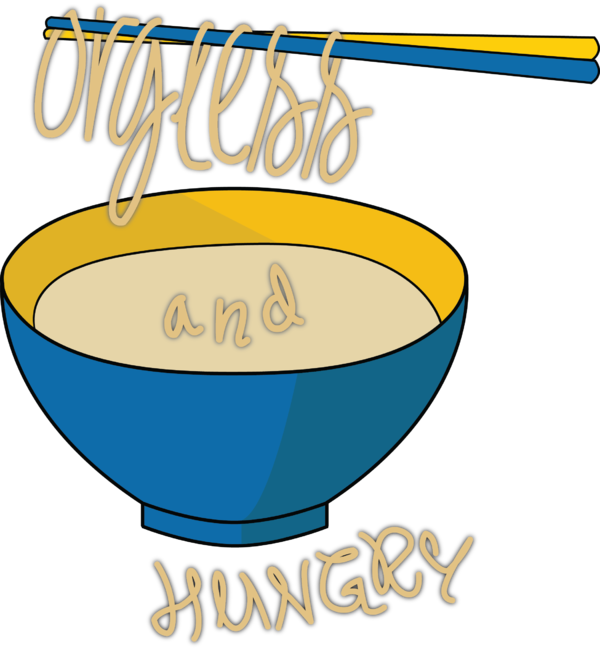 Orgless and size . Hungry clipart full