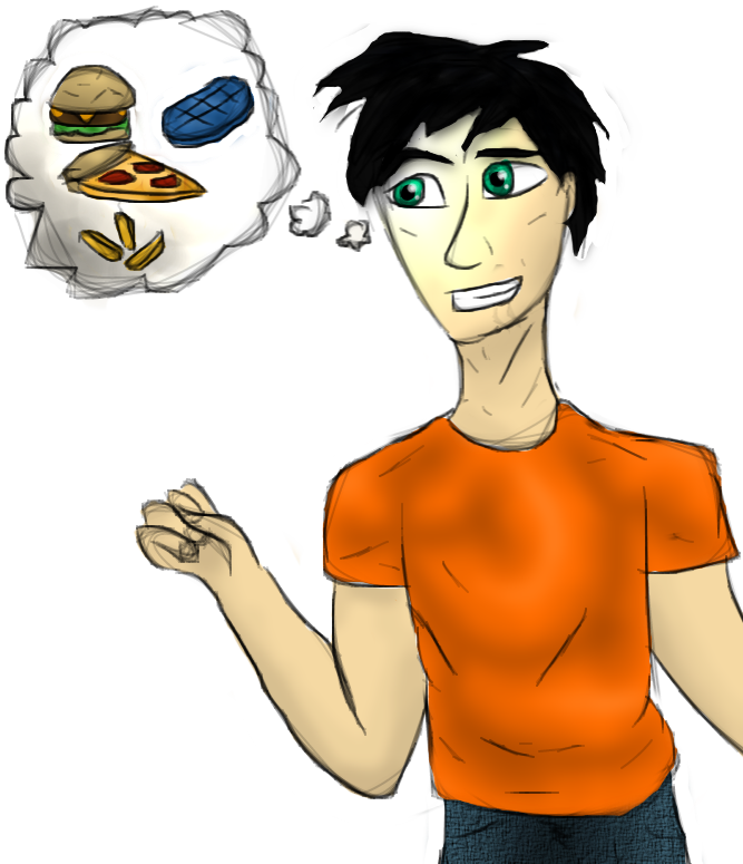 A percy jackson by. Hungry clipart hungry boy