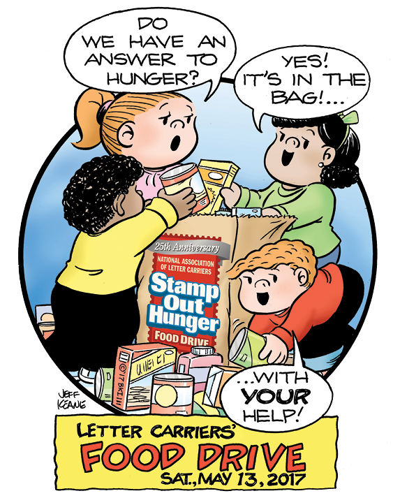 Hungry clipart hungry family. Help the nalc stamp
