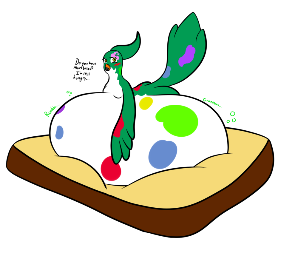 Gift breb birb by. Hungry clipart rumble