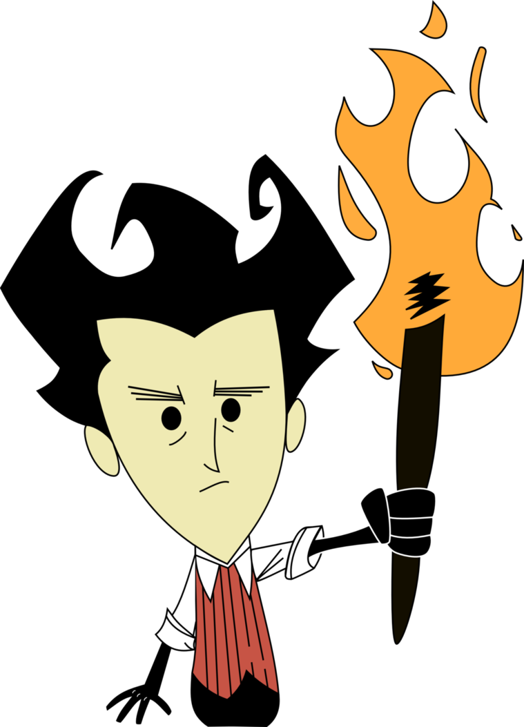 Dont starve wilson by. Hungry clipart starvation