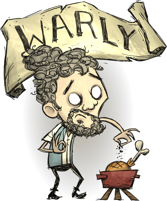 Warly don t starve. Hungry clipart starvation