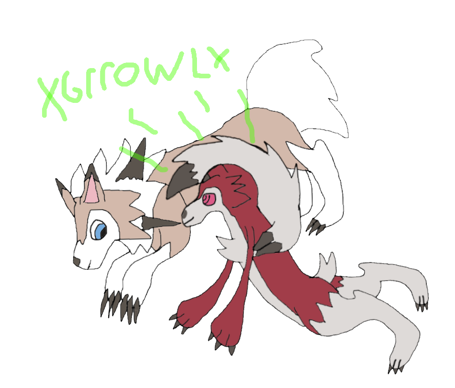 A lycanroc listens to. Hungry clipart stomach growl