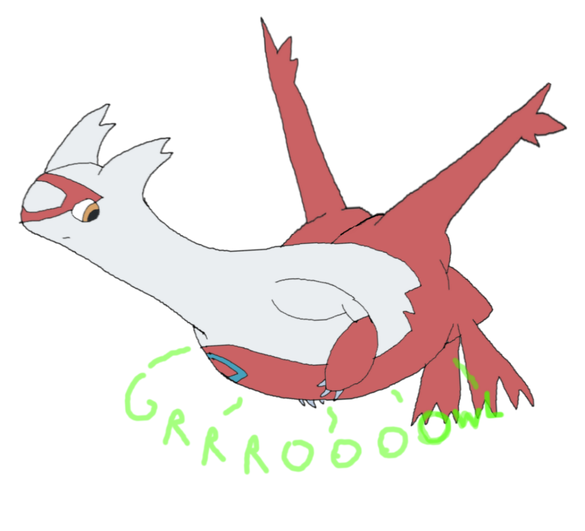 Hungry clipart stomach growl. Latias by iamthenightpotato fur