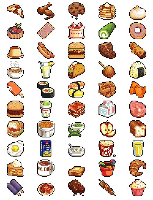Shell clipart pixel. Manstiel geek food cipater