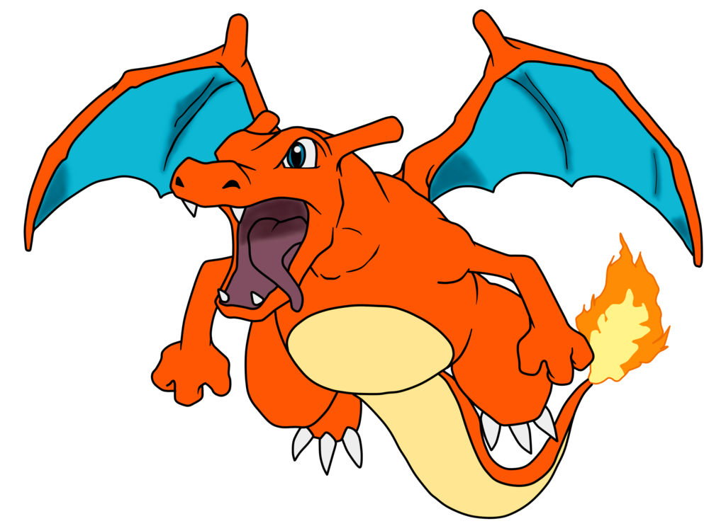 Charizard by gonzalossj on. Hungry clipart tengo