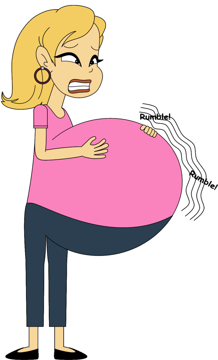 Hungry clipart tummy ache. Peregrine s belly by