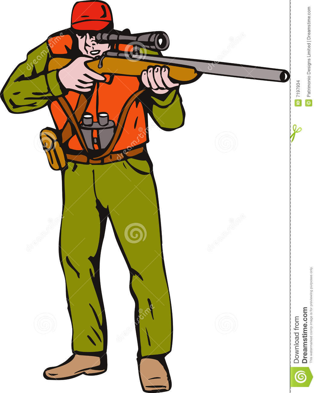 Hunting clipart hunting equipment. Hunter clip art free