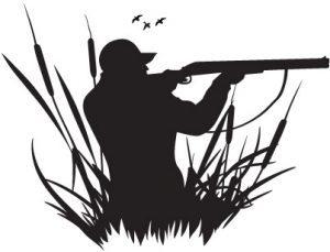 Hunter clipart. Duck vectorspirit graphix spirit