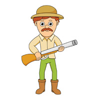 Hunter clipart. Search results for clip