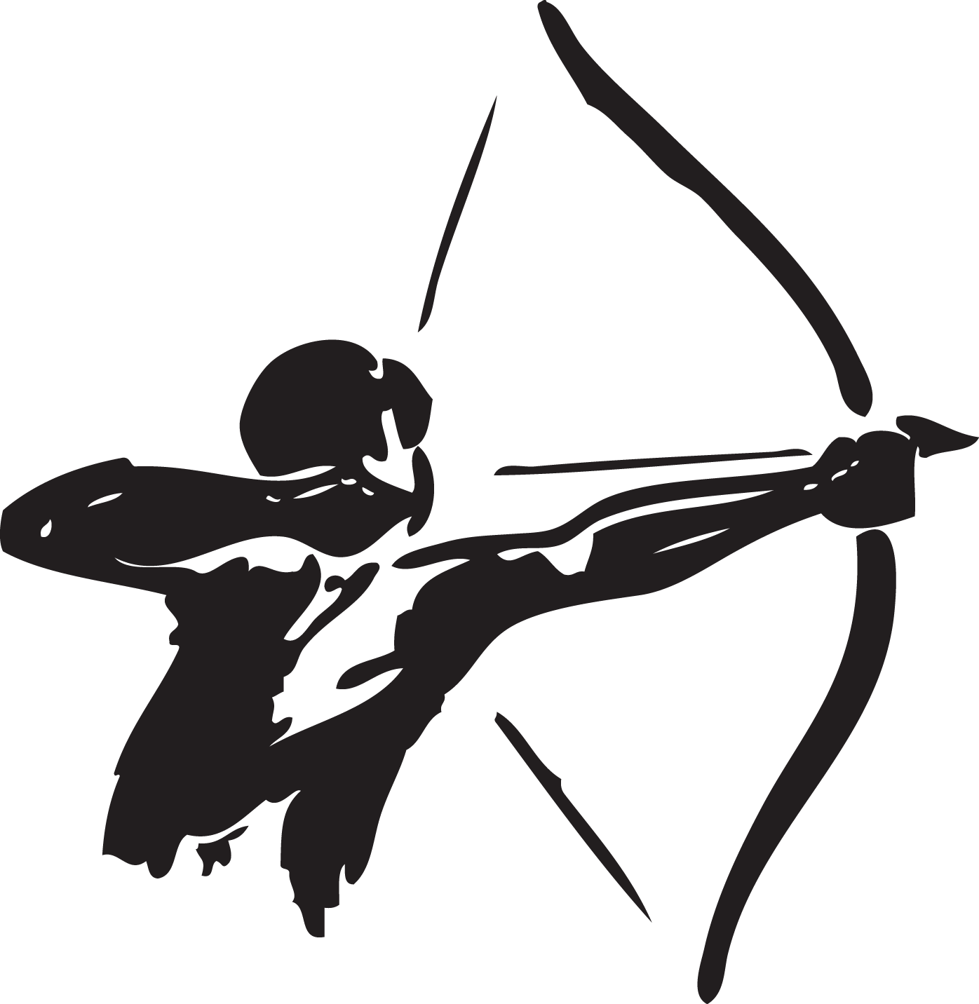 Hunter clipart archery. Bow and arrow hunting