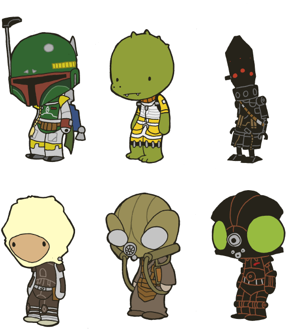 Hunter clipart bounty hunter. Lil hunters by toadcroaker