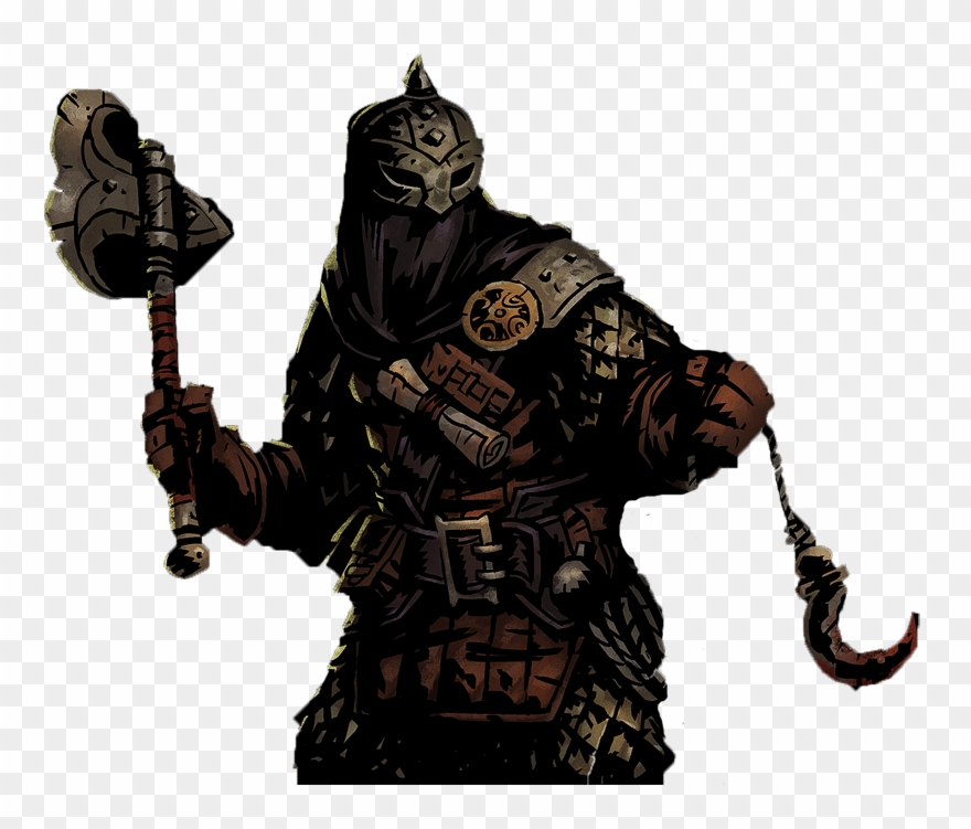 Hunting clipart bounty hunter. Official darkest dungeon