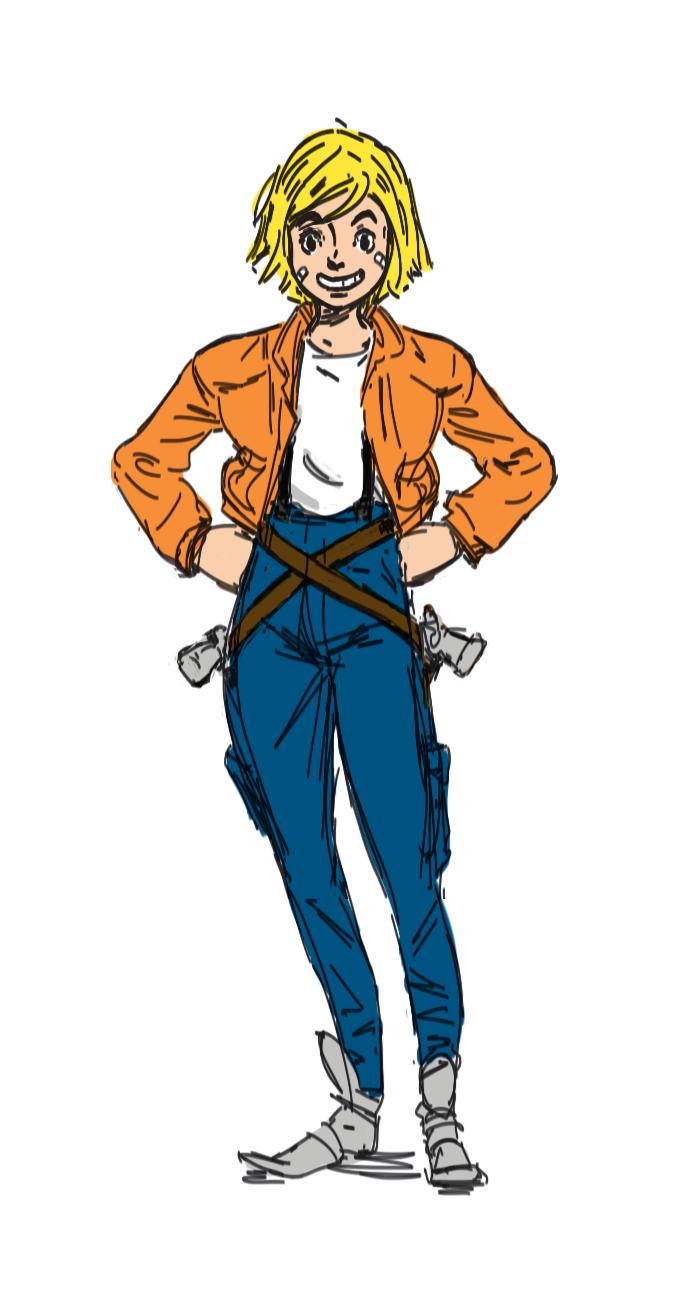 Hunter clipart bounty hunter. Elara space by adamsimons
